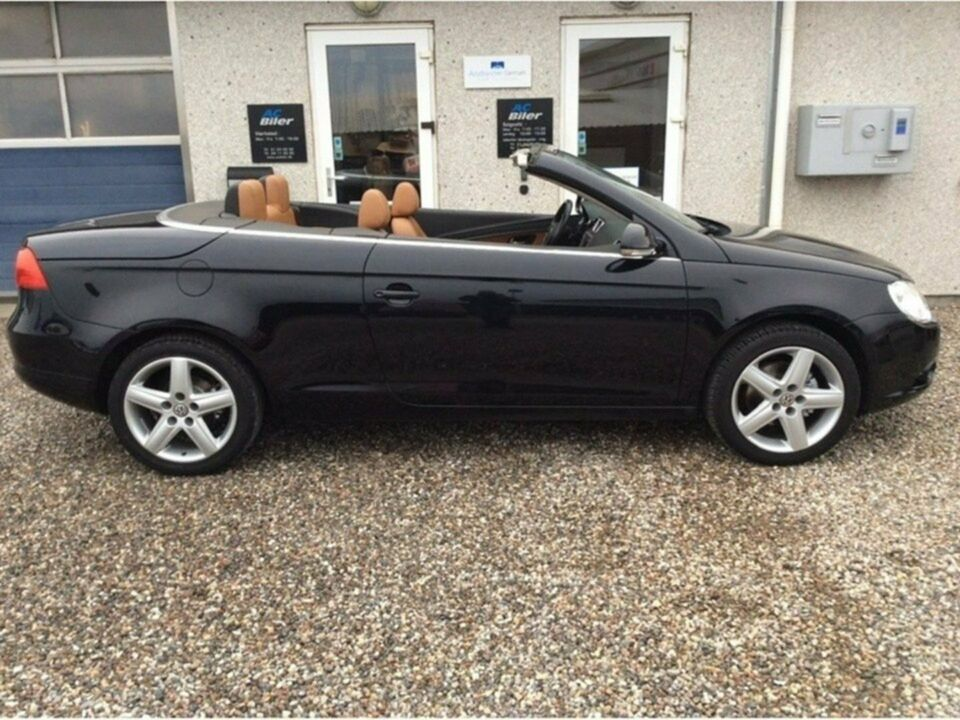 vw eos 2 0 fsi benzin model r 2007 km k b og. Black Bedroom Furniture Sets. Home Design Ideas