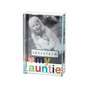 Spaceform I Love My Auntie Dinky Photo Picture Frame 1451 Colourful