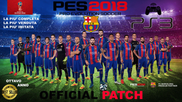 AGGIORNAMENTO PATCH Pro Evolution Soccer PES 2018 PS3 Option File STAGIONE 2020