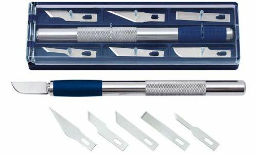 6 Ersatzklingen Länge: 150 mm WEDO Hobbymesser inkl