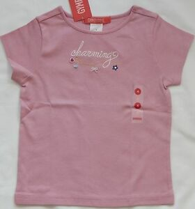 SUMMER GYMBOREE Bright /& Beachy Pink Shirt Top Ferris Wheel Girl/'s 4 5 6 78  NEW