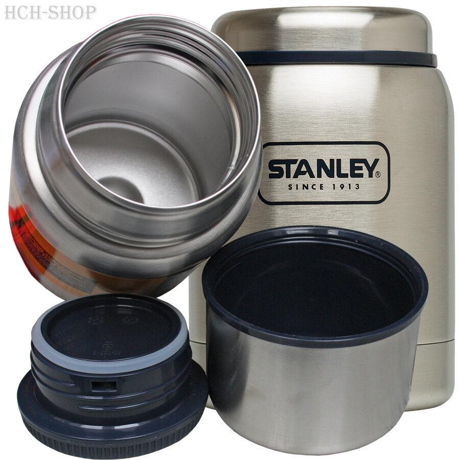 Stanley Adventure Vaccum Food Container aus 18//8 Edelstahl mit Essbesteck