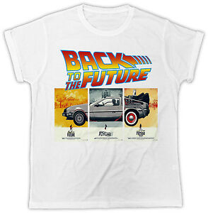 BACK TO THE FUTURE , DESIGNER , SUMMER , SHORT SLEEVE T SHIRT*