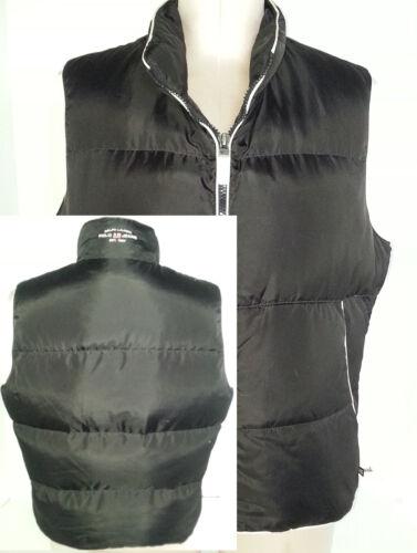 Ralph Vest Puff Størrelse Vandfugl Down Womens Large Jakke Polo Lauren Black L Uxra1qWUZw