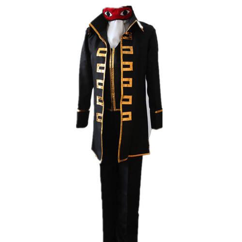 Okita Sougo Costume Gintama Shinsengumi Team Suit Halloween Party Anime Cosplay
