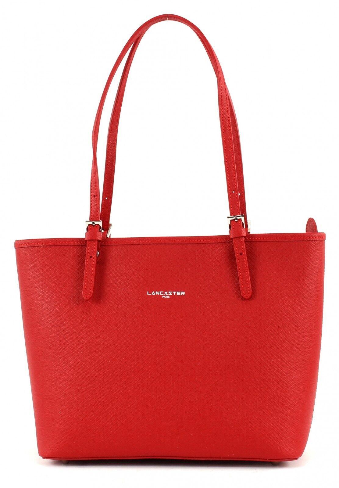 LANCASTER Adèle Shoulderbag Tasche Schultertasche Schultertasche Schultertasche Handtasche Rot rot Damen Neu | Adoptieren  | Moderner Modus  | New Product 2019  4bb762