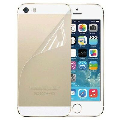 3X Front+Back Screen Protector Ultra Film HD Clear LCD Guard for iPhone 5 5G 5S