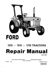Ford 1310 1510 1710 Tractor Service Manual Se 4301 Print Version