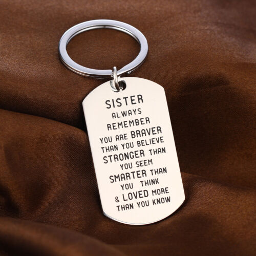 Mothers Day Gifts For Her Mommy Mom Dad Brother Birthday Love Keyring Present