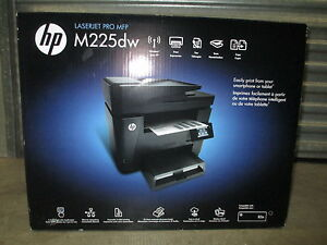 Details about BRAND NEW HP LaserJet Pro M225DW All-In-One Laser Printer