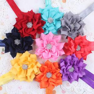Sweet cute for baby girls lotus flower stretch headband hair band ebay image is loading sweet cute for baby girls lotus flower stretch mightylinksfo