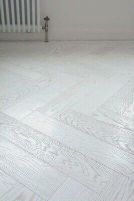 Vivant Herringbone 12mm White Oak, White Herringbone Laminate Flooring