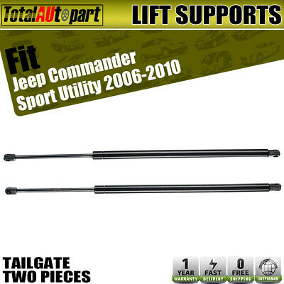 2x Hood Lift Supports Shock Struts Springs Props for Jeep Commander 2006-2010