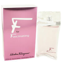 Salvatore Ferragamo F For Fascinating Perfume Women Eau De Toilette Spray 3 Oz