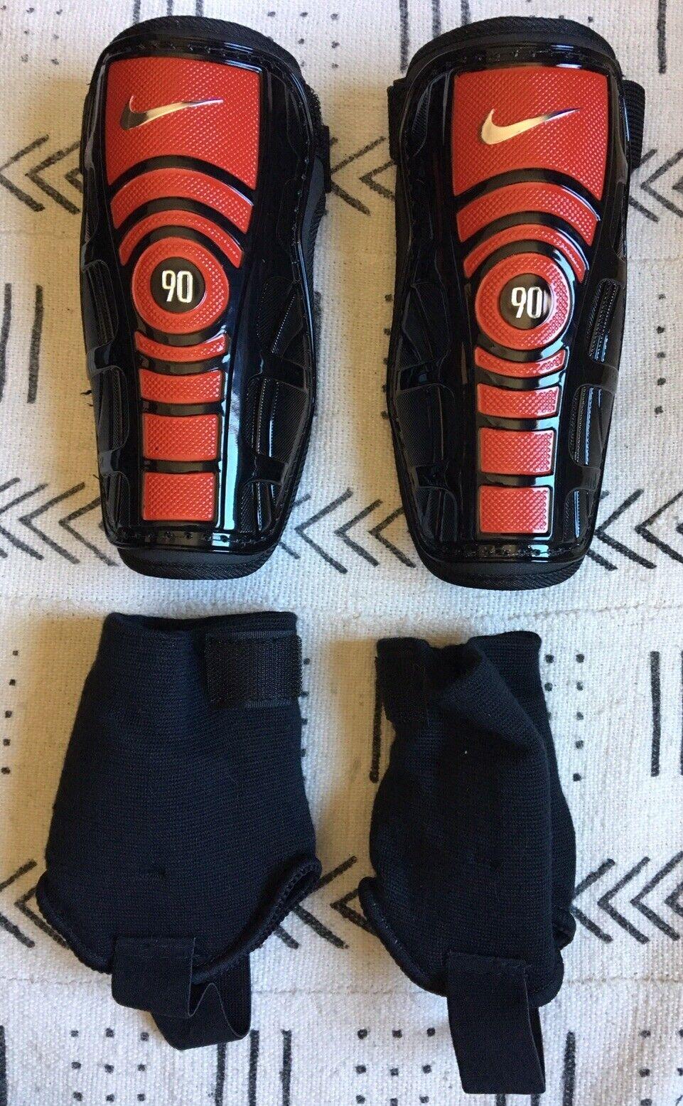 Extranjero isla cortina  Nike T90 Protegga Shield II Soccer Shin Guards - Size L for sale online |  eBay