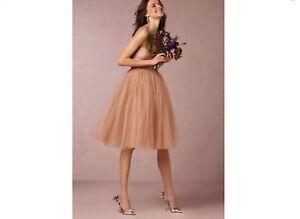 6d026b3f2 Image is loading Anthropologie-BHLDN-Blush-Kenna-Bridesmaid-Dress-by-Donna-