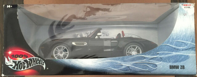 100 Hot Wheels Bmw Z8 Black With Red Interior