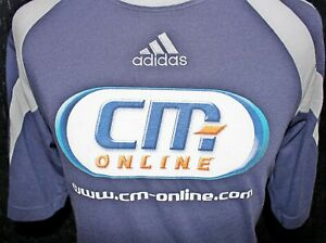 ADIDAS Mens CM ONLINE Manager Of The Month T Shirt Size UK ...