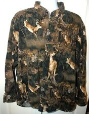 Redhead Deer Camo 3XL Button Down Long Sleeve Flanel Shirt  **NICE**