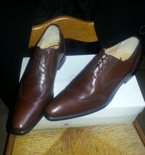 En Marron Chaussures 41 Pasquier Cuir pOdwBq8