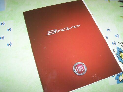 Catalogue Brochure FIAT Bravo 2007 ////
