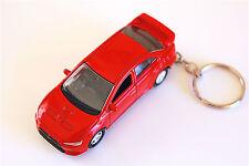 Mitsubishi Lancer Evolution X die cast car on Key Chain