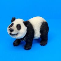 Small Panda Bear Figurine Wildlife Statue C
