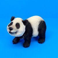Small Panda Bear Figurine Wildlife Statue C
