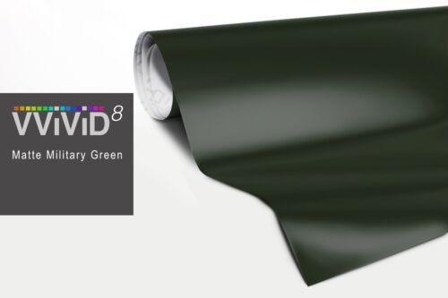 """15ft x 60/"""" dark green matte vinyl car wrap sheet roll film satin sticker decal"""