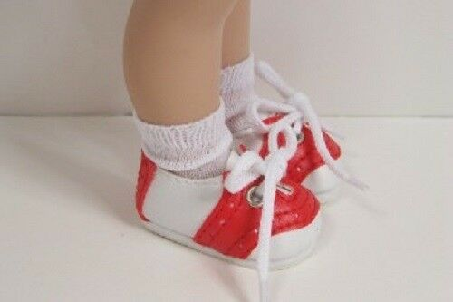 """Debs RED Saddle Oxfords Doll Shoes For 10/"""" Ann Estelle Sophie Patsy"""