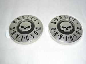 Harley-Davidson-Skull-Tank-Embleme-CVO-Tankembleme-Set-Matt-14100216-amp-14100217