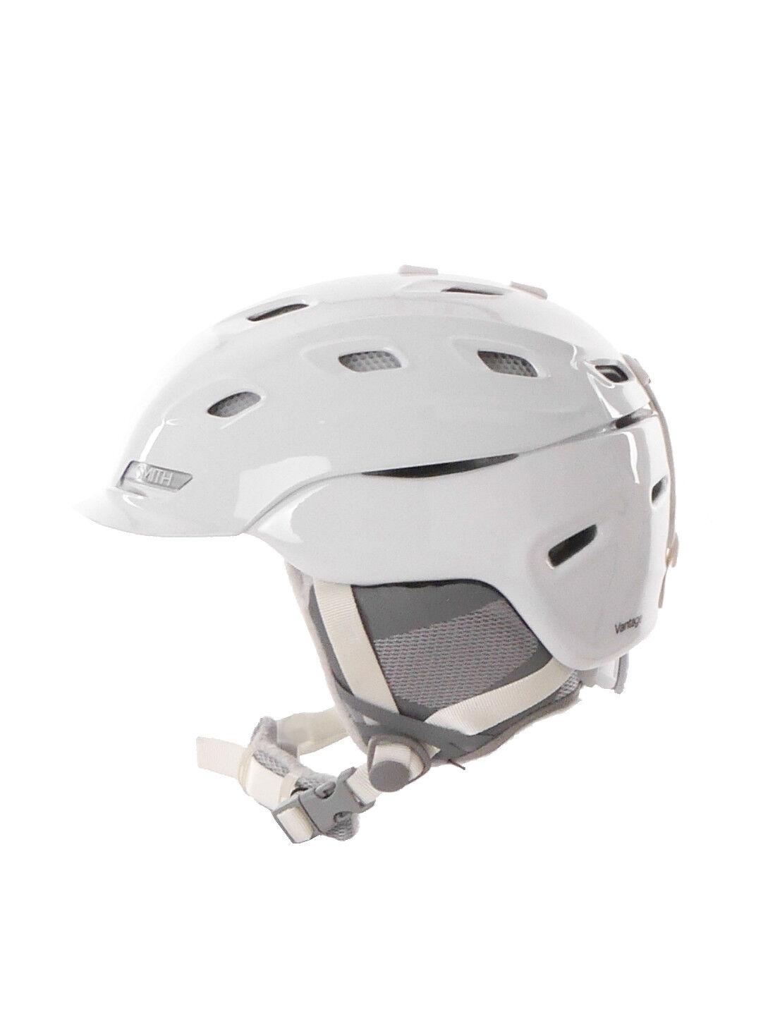 Smith Casco  de Snowboard Esquí Vantage W whiteo colors Lisos Ohrenpolster  order now lowest prices