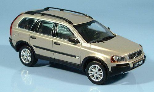 Maravilloso Minichamps-MODELCoche Volvo XC90 2003-Dorado Metálico Escala 1 43 - Lim