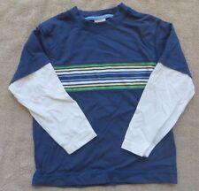 EUC Gymboree Frog Pond Double Sleeve Striped Shirt Size 3