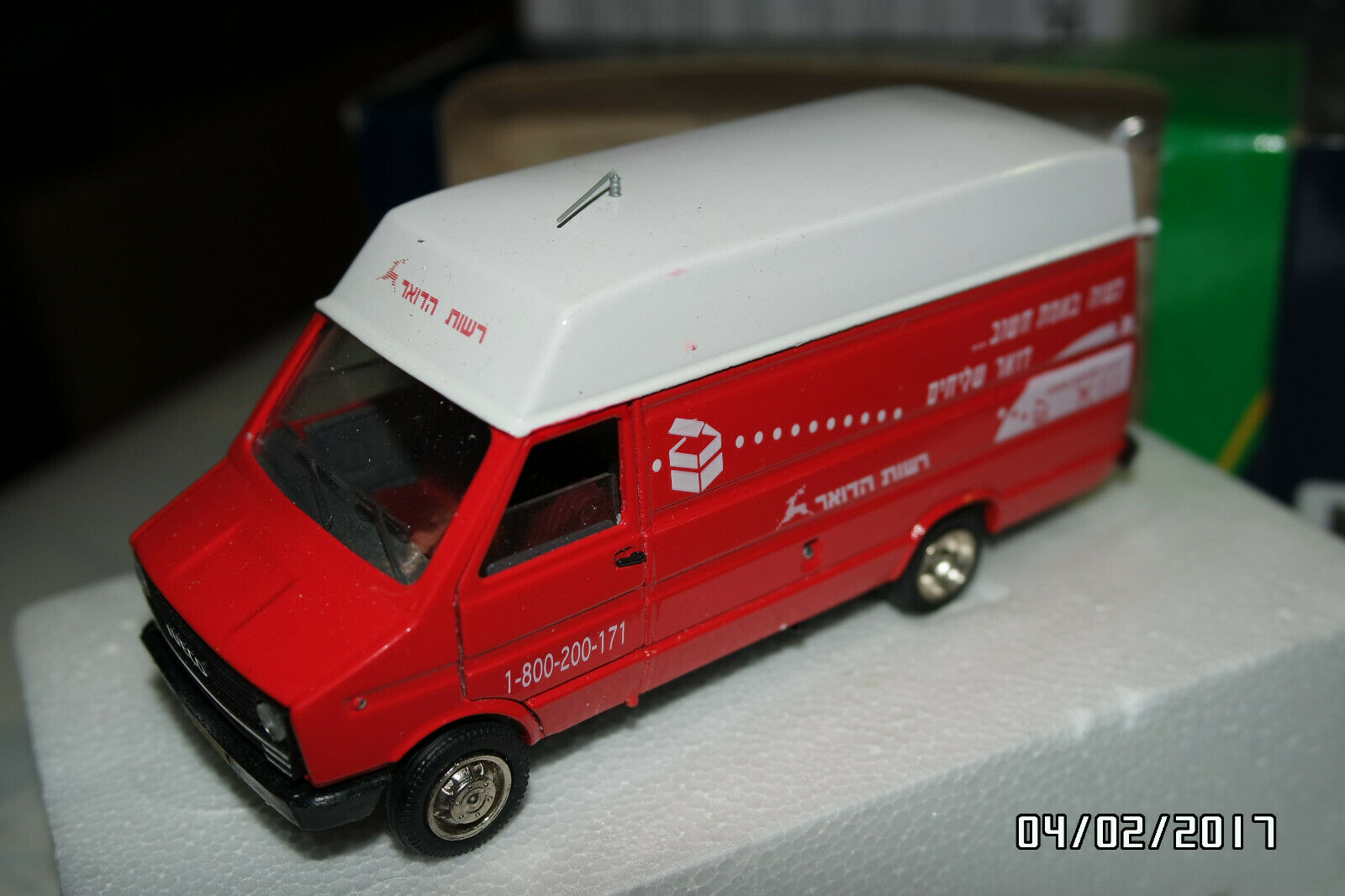 IVECO DAILY POST ISRAEL 1 43 OLD CARS MINT BOXED