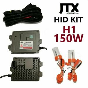 H1 JTX High Quality 12v HID Kit 150W in 4300k 6000k 8000k or 10000k