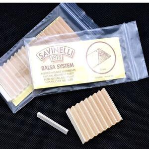 NEW-40PCS-SAVINELLI-6MM-Balsa-Wood-Pipe-Filters