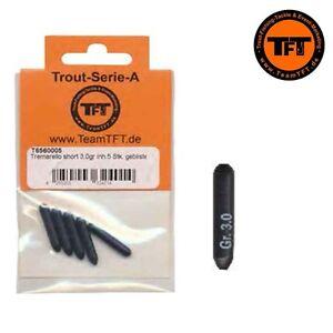 TFT-FTM-Tremarella-Blei-Short-versch-Gewichte-2g-3g-4g-5g-6g-Fishing-Tackle-Max