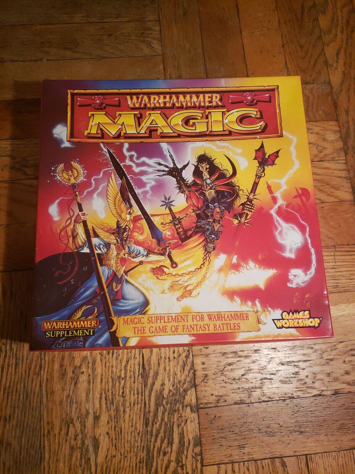 Magic Suplemento Para Warhammer el juego de Cochetas de batallas de fantasía