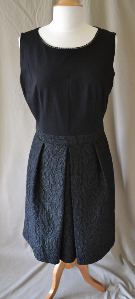 c202e910 Elie Tahari schwarz Sleeveless Dress w Lace Skirt Größe 14. damen Torrid  ...