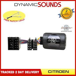 Xtrons Zucca Auto Stereo Gambo Adattatore di Controllo per Citroen C2 C5 C8 C3