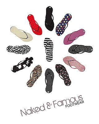 Para Mujer Moda Flip Flop 14 Impresiones Funky Colores Verano ligero y delgado