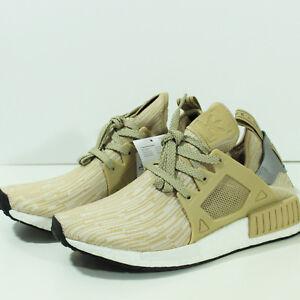 sports shoes 5f6e1 ba0fb Details about 100% Authentic Adidas NMD XR1 Primeknit PK Linen Tan Khaki  S77194 SZ 6 DS / NEW