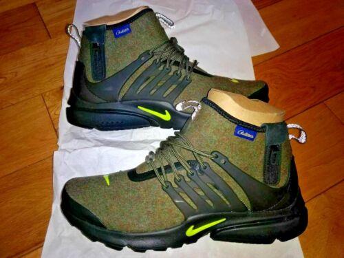 10 Us Presto Nike 11 Custom Pendleton fait 1 Air en jamais Mid de laine Uk qRTRg7O