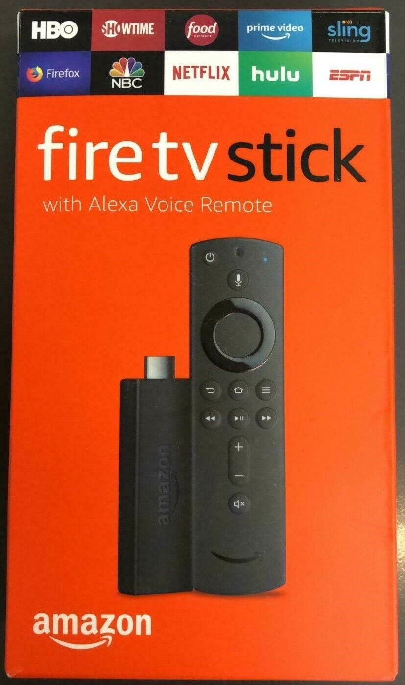 NEW Amazon Fire TV Stick 2019 All-New Alexa Voice Remote with TV Control Buttons Featured