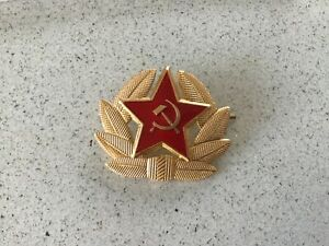 Genuine-USSR-CCCP-Soviet-Russian-Communist-Party-Army-Hat-Pin
