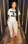 Rock /& Roll Slogen Cap Sleeve Loungewear 2pc Bottom Ladies Women Tracksuit Set S