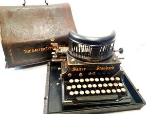 ► Antique machine write salter no 7 schreibmaschine typewriter 1907 ► rare