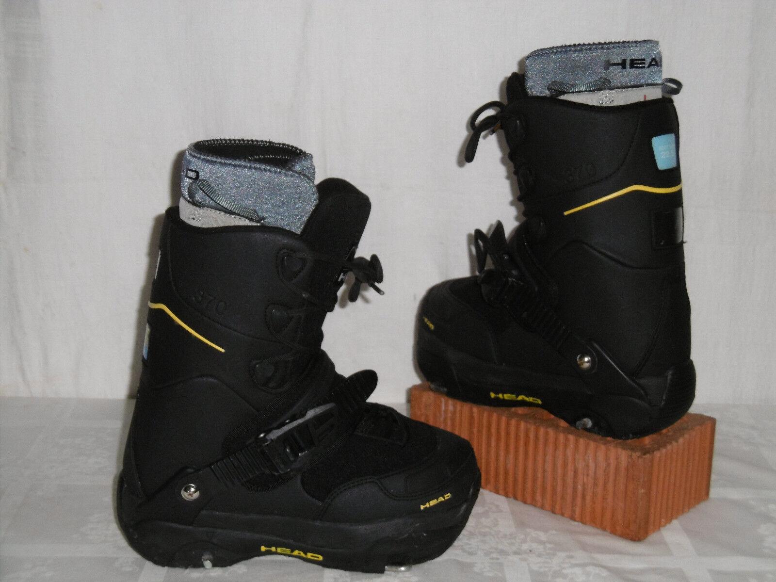 HEAD   370 370 370   JUNIOR SNOWBOARD STEP-IN Stiefel GR  35 + HEAD STEP-IN BINDUNG ee10db