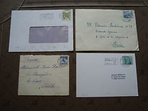 Switzerland-3-Envelopes-1-Card-cy87-Switzerland